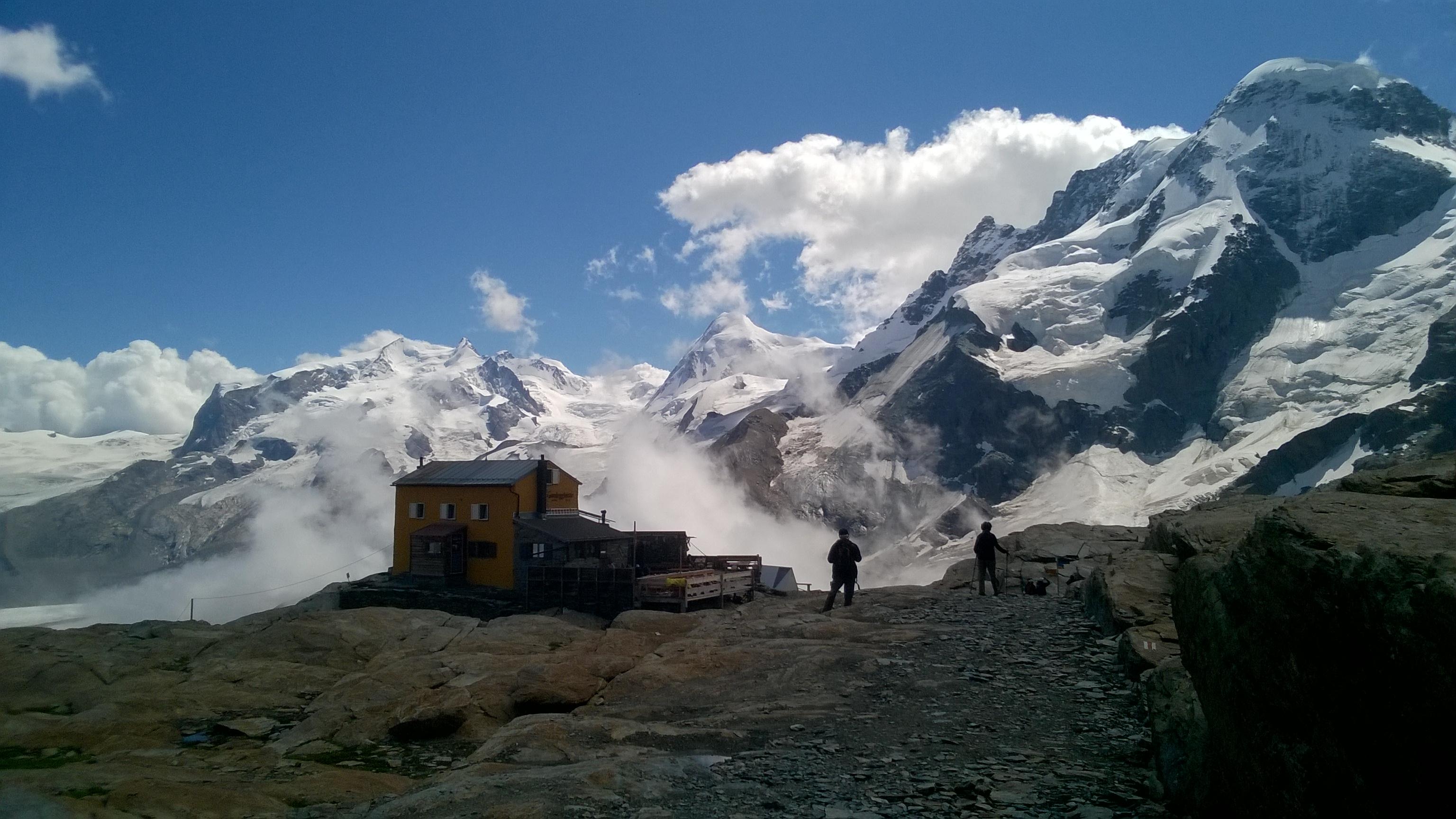 Gandegg Hut