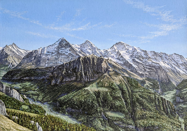 Panorama from Schynige Platte