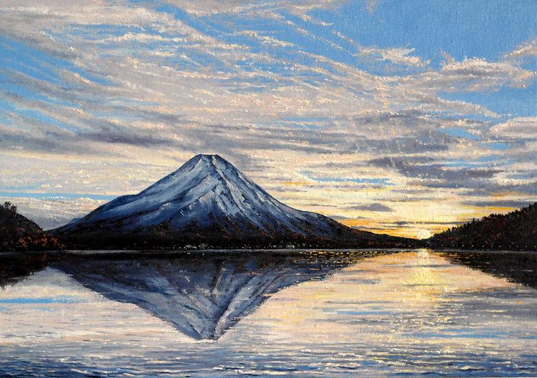 Mount Fuji from Lake Yamanaka