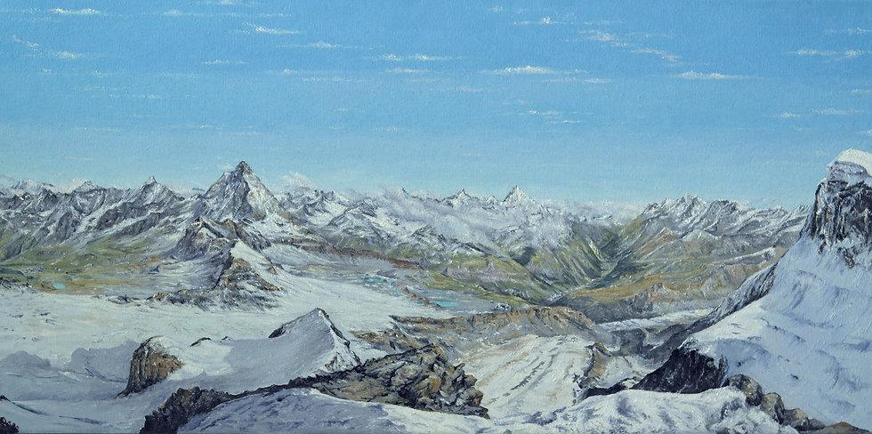 Alps from Klein Matterhorn