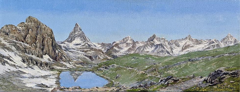 Riffelhorn Panorama