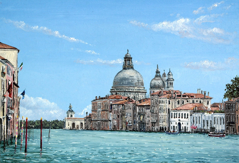The Dome of Santa Maria della Salute