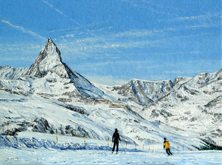 Ski Piste near Riffelberg