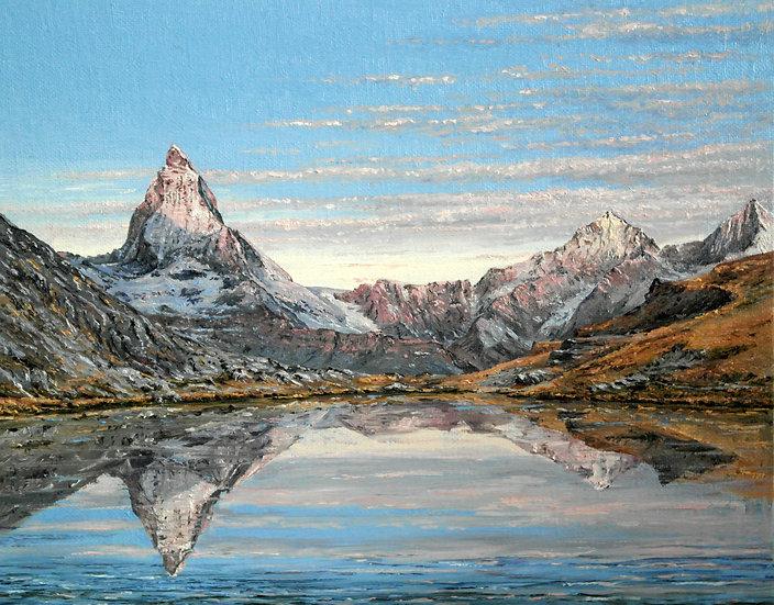 Alpine Sunrise Riffelsee