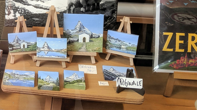 Miniature Oil Paintings, Switzerland