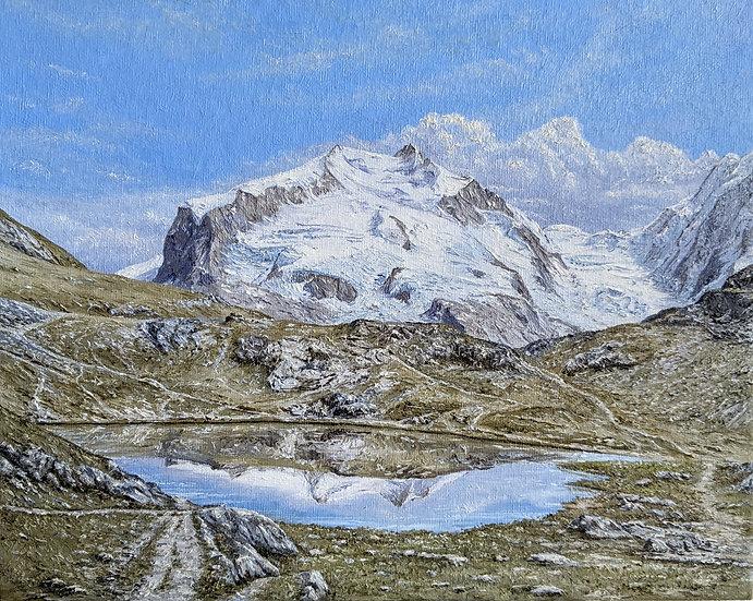 Monte Rosa, Zermatt, Switzerland