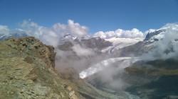Mountains above Zermatt