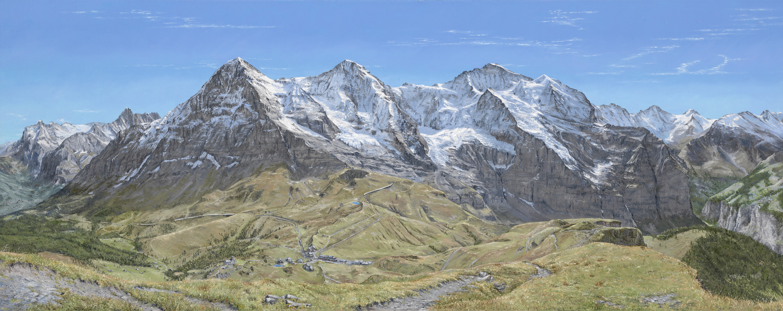 Bernese Oberland Panorama