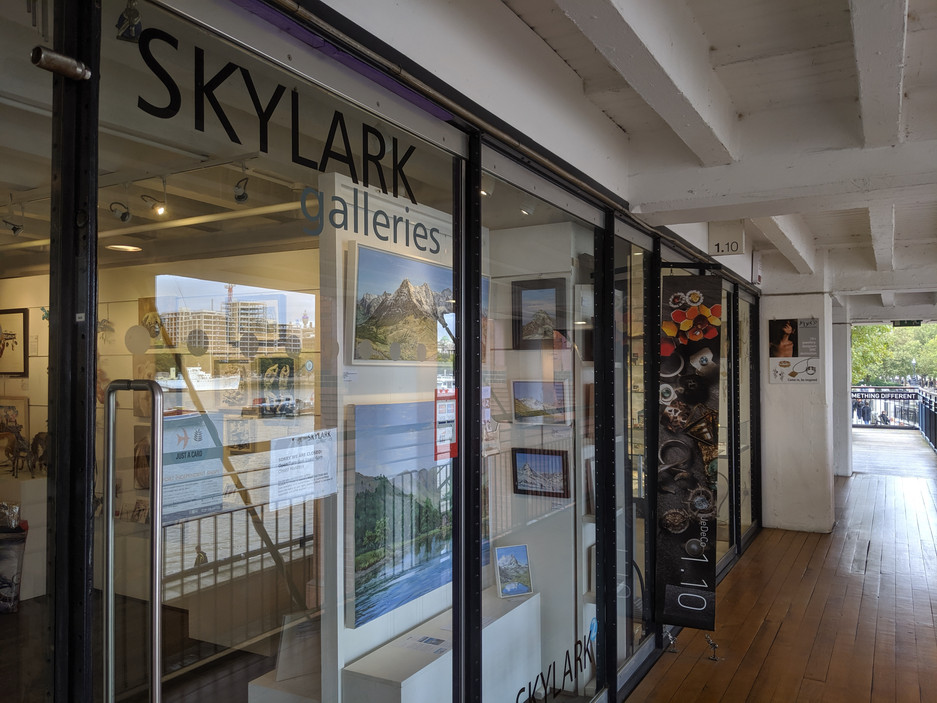 Featured Artist at Skylark Galleries