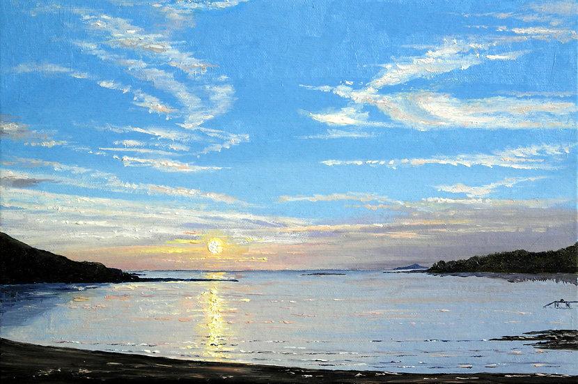 Sunset, Hadomisaki Beach