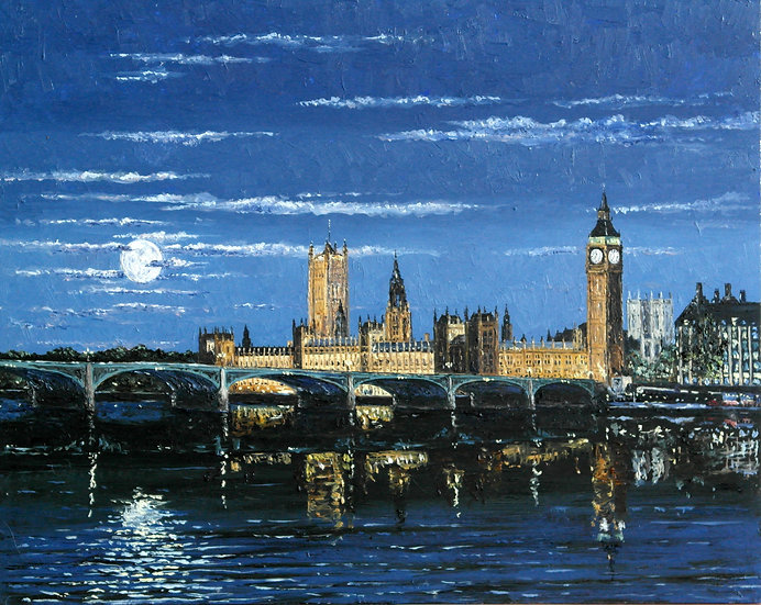 Thames by Moon Light
