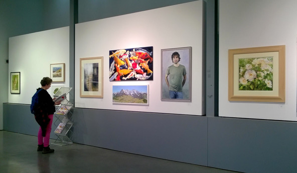 Artist of the Year Exhibition, Mall Galleries, London