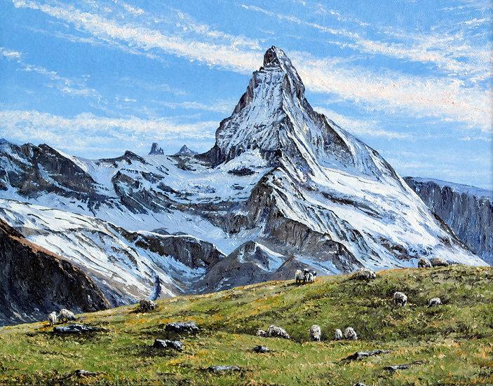 Matterhorn Evening Light