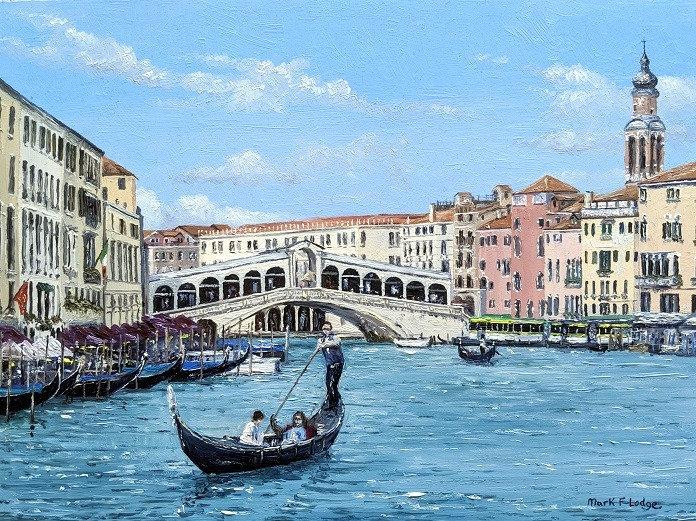 Rialto Bridge from the Grand Canal