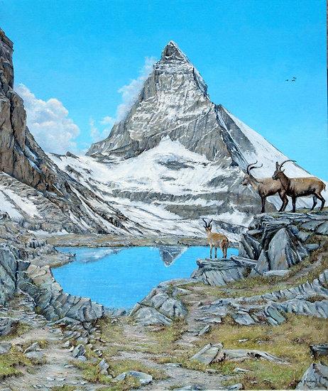 Matterhorn Reflection, Riffelsee