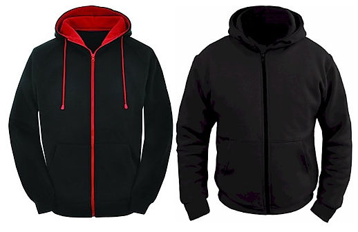 Slatin MotoGear Hoodies are comfortable, warm, excellent crash protection with full Kevlar-Lining and have removable CE Armor.