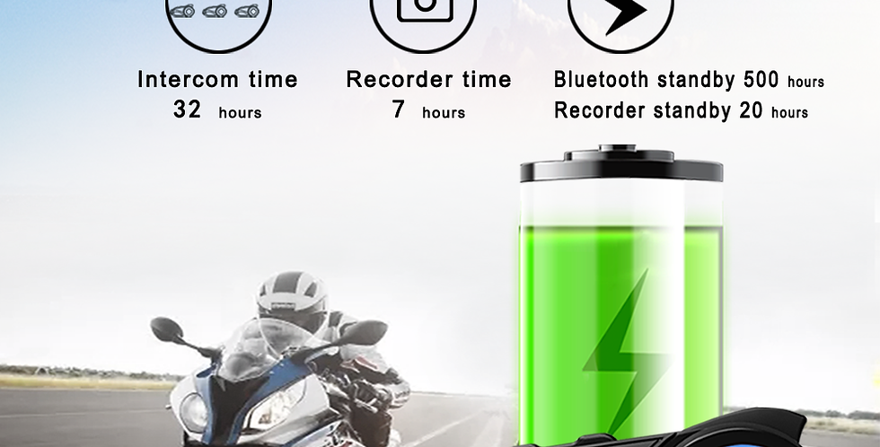 Maxto M3 Bluetooth Helmet Multi-Function Module