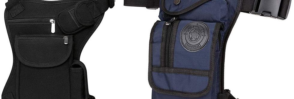 Leg Bag in Black or Denim Blue