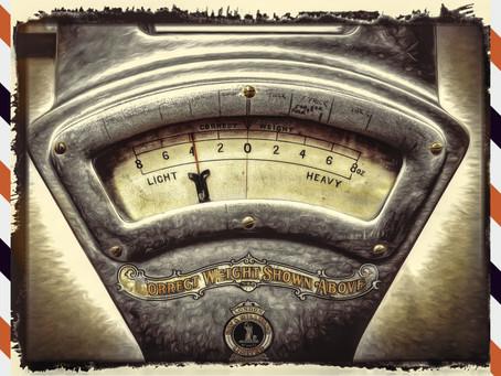 Úterní úvahy #4: Úvaha o váze