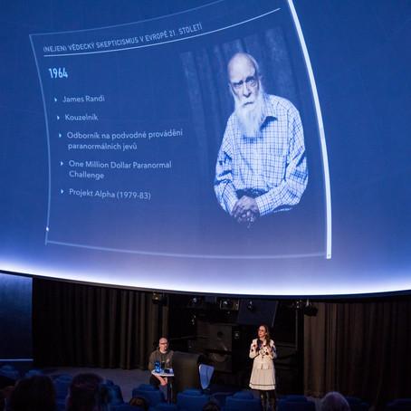 Přednáška v Hvězdárna a Planetárium Brno