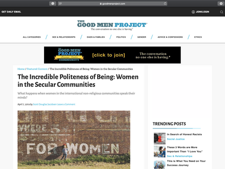 The Incredible Politeness of Being: Women in the Secular Communities