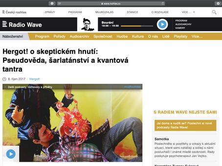 V pořadu Hergot!, ČRo RadioWave