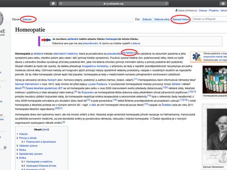 Jak používat Wikipedii?