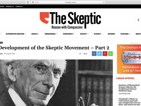 The Development of the Skeptic Movement – Part 2