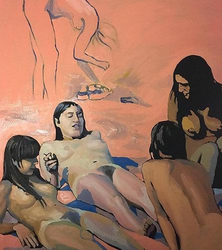 The Pink Nymphs /Les Nymphes en Rose