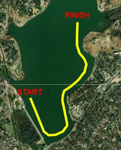 White Rock Fall Classic Course Map