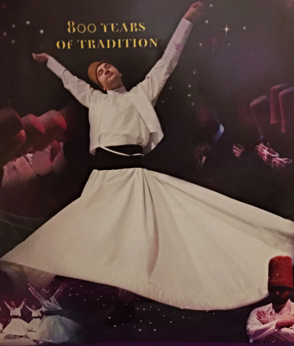 9.  The whirling dervishes
