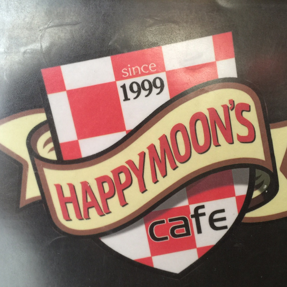 The Happy Moons cafe.
