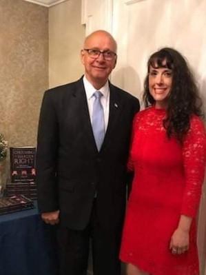 Col. Timothy Ringgold (Ret) and author Destiny Jennifer Ringgold