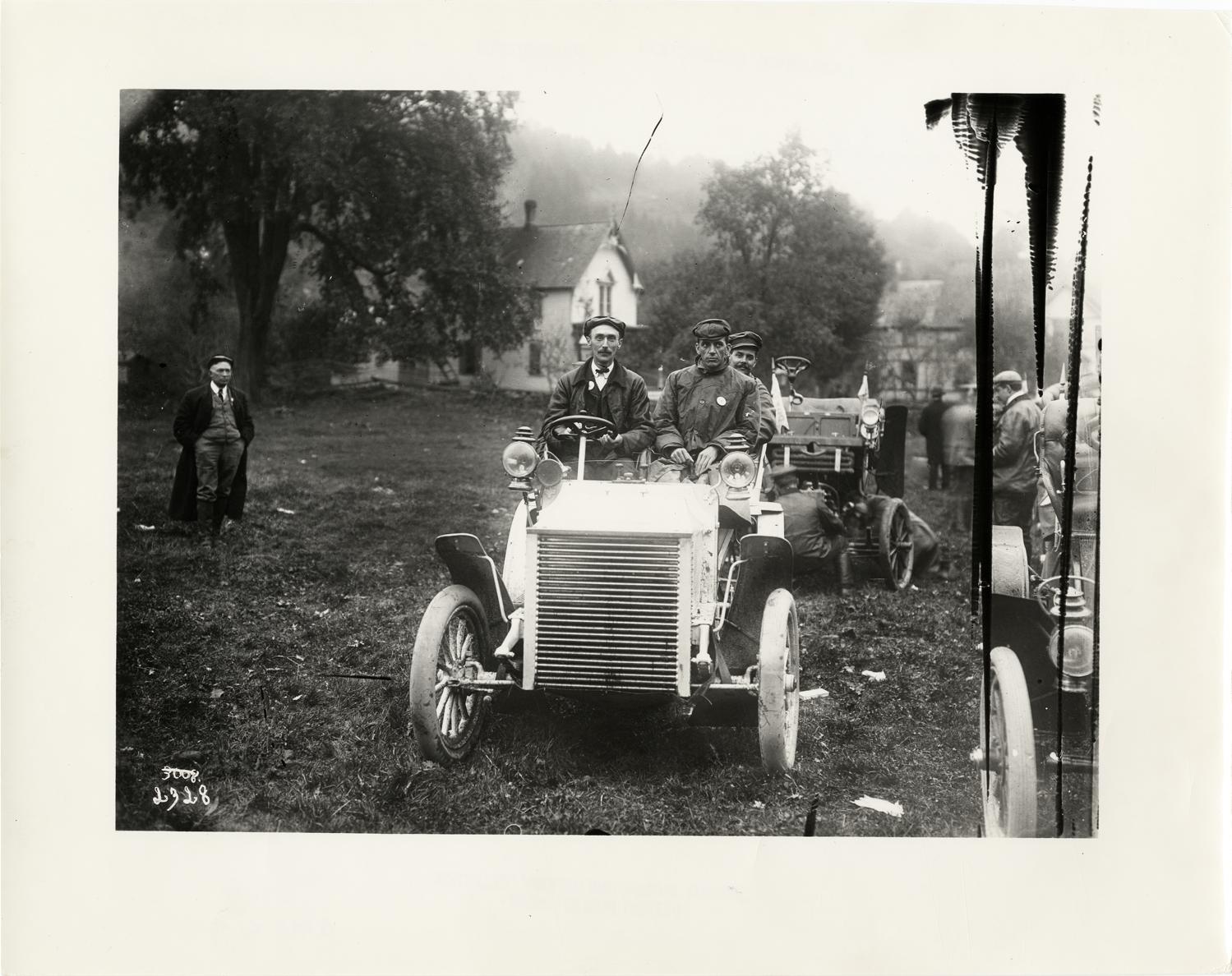White Steamer at Pine Hill, 1903
