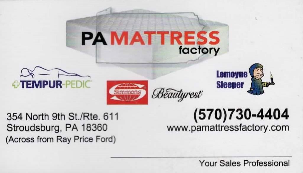 PA Mattress Factory
