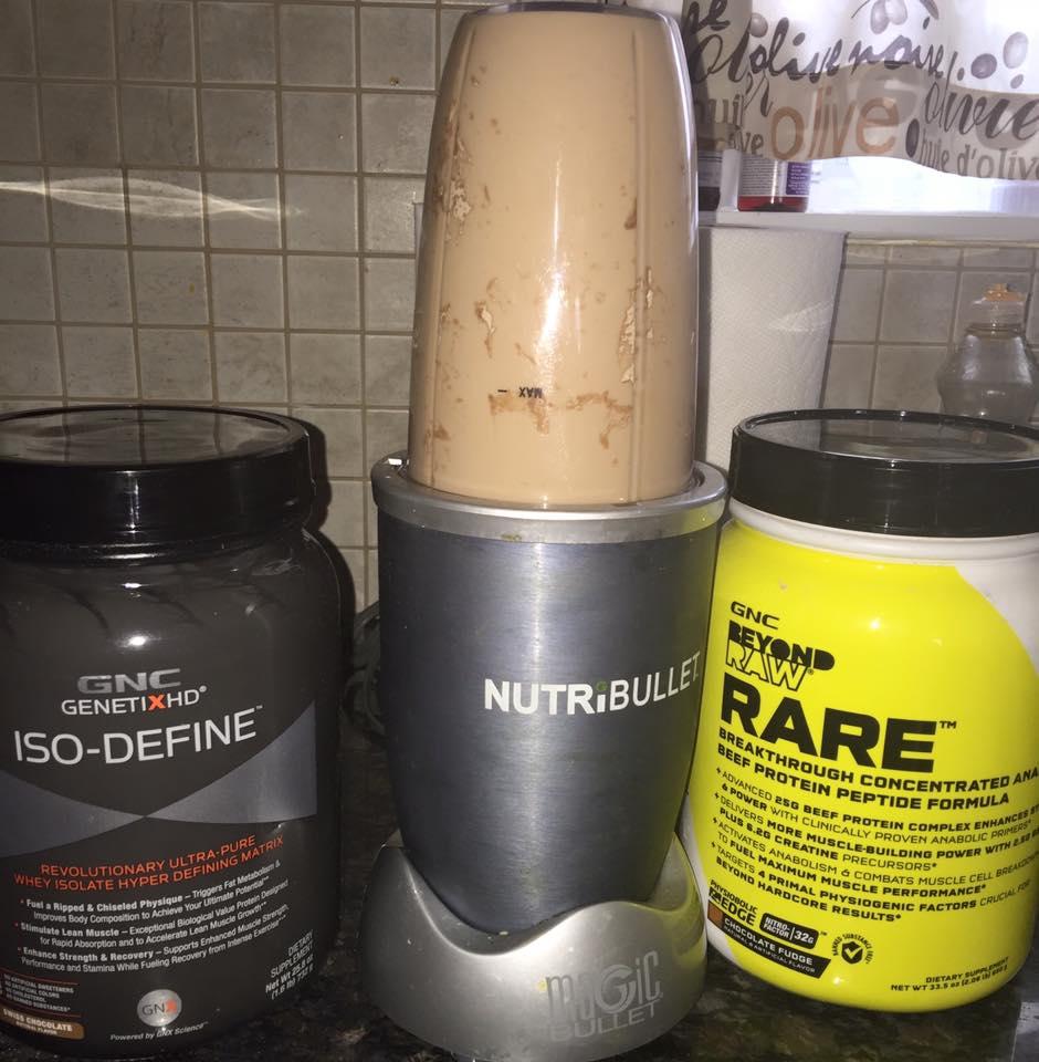 Choc. Banana Protein Breakfast Shake