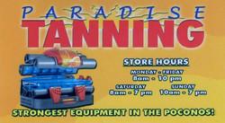 Paradise Tanning Tannersville, PA