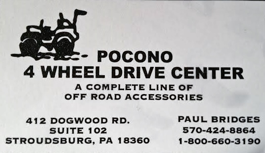 Pocono 4 Wheel Drive Center
