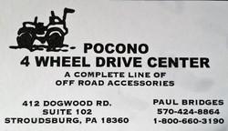 Pocono 4 Wheel Drive Center