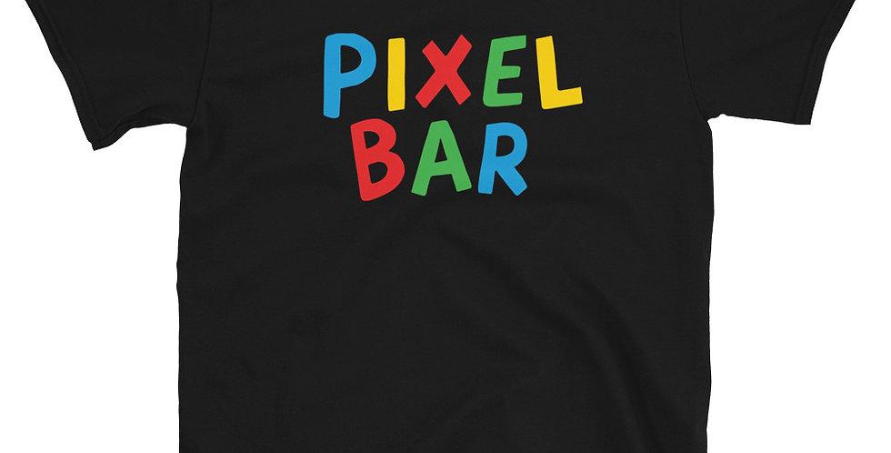 Super Pixel Bros - Black T-Shirt