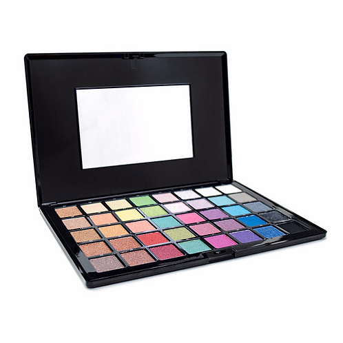 Airbase High Pigment, Pearl Eyeshadow Pallette (40 Colours)