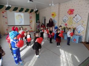 Святкування 8 Березня у дитячому садку