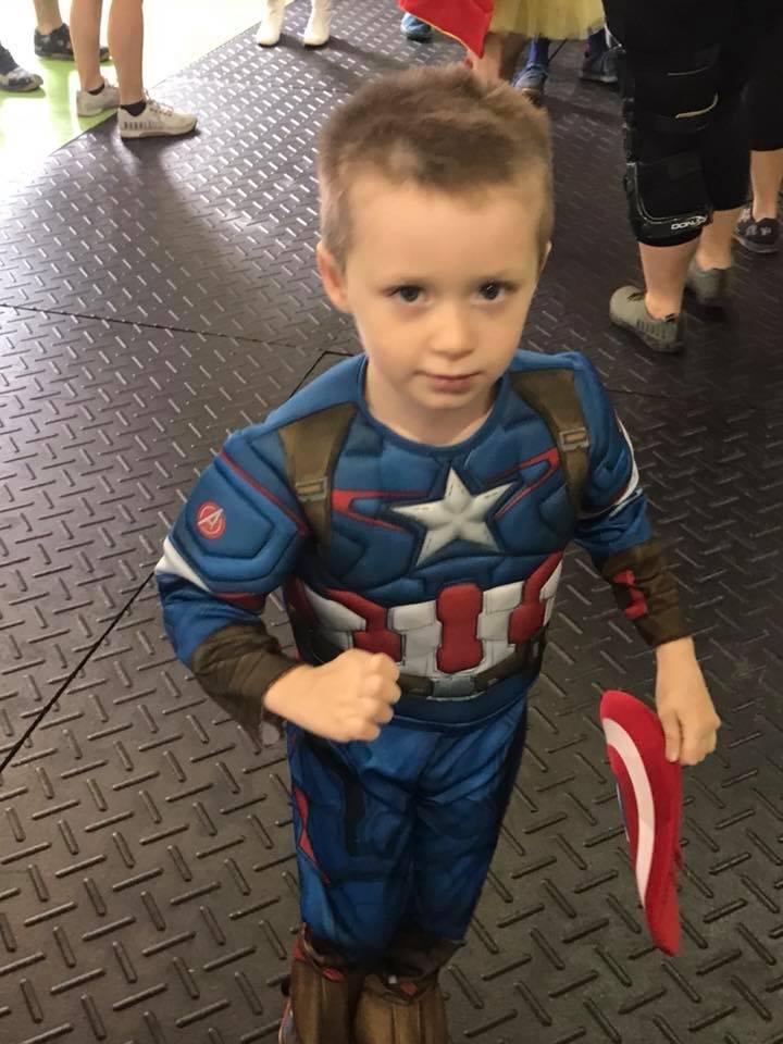 Parker a.k.a Captain America