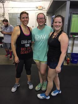 Trista, Addie, and Krysten