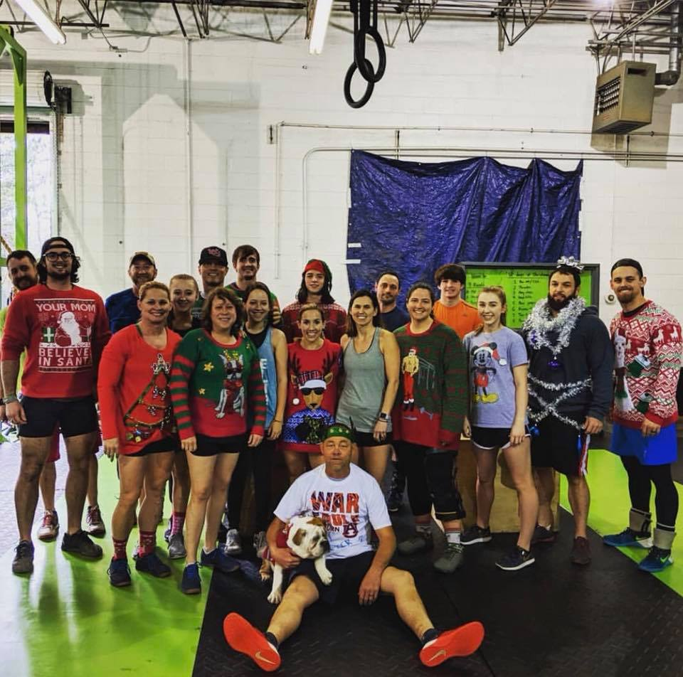 Ugly Christmas Sweater WoD