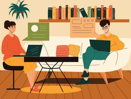6 tips til at arbejde effektivt hjemmefra