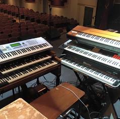 Keyboard set-up