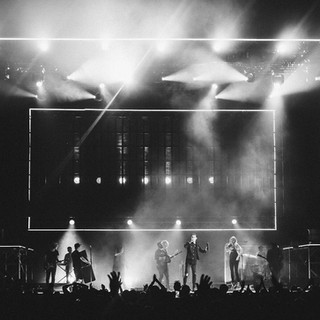 The Outcry Tour with Floor and Truss mount fixtures