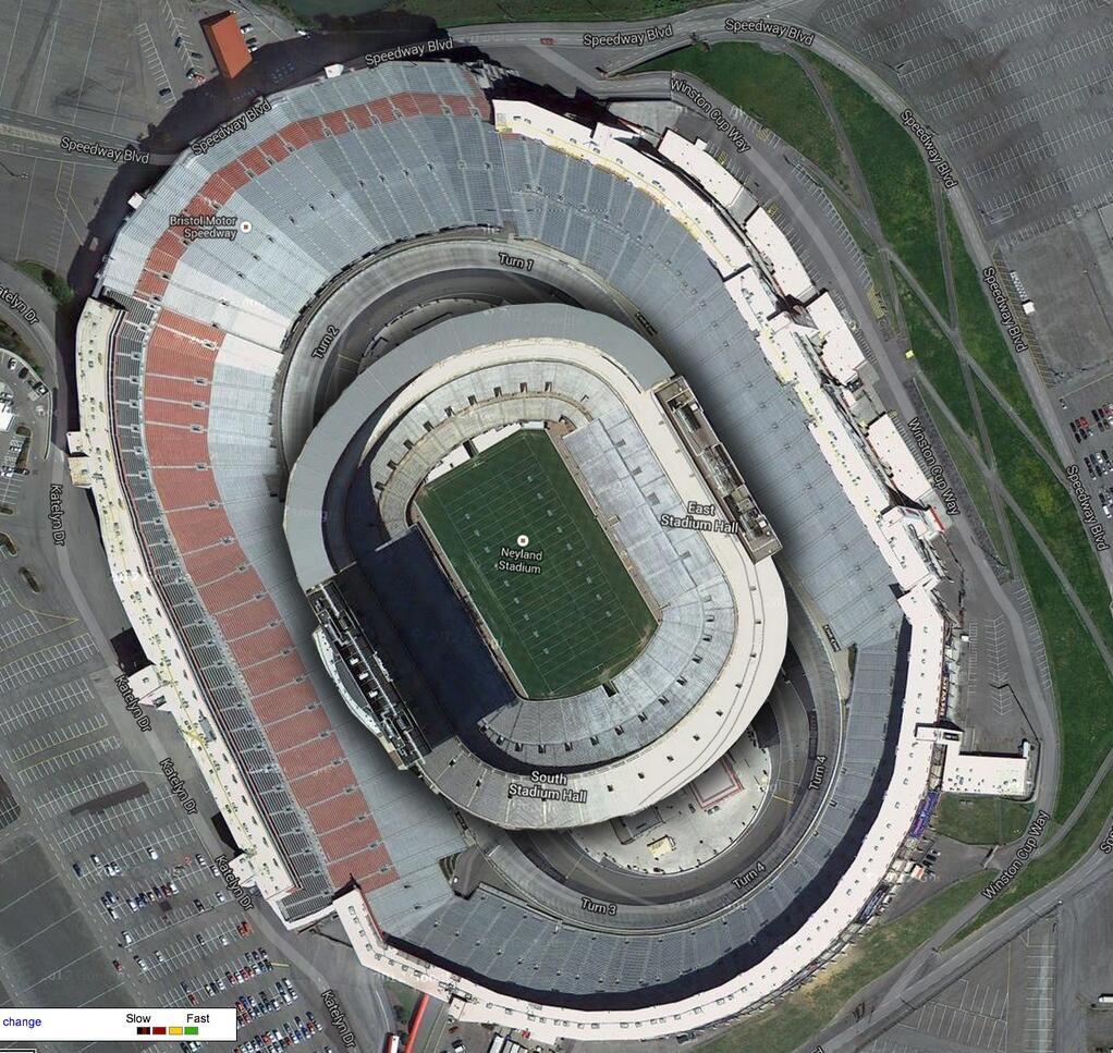 BMS & Neyland Stadium