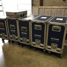 Combo amps ready for rental